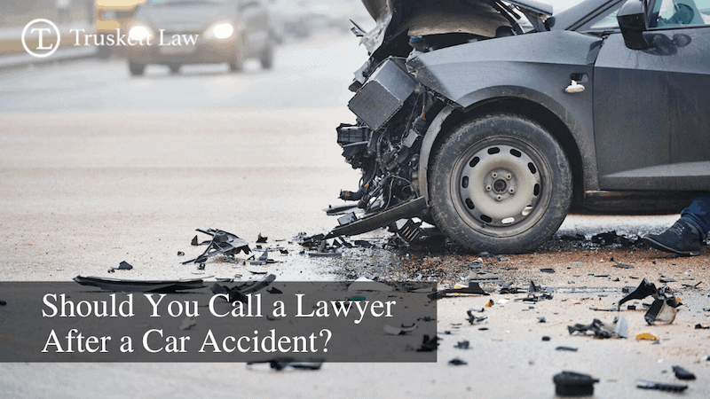 Contacting a lawyer after a car crash