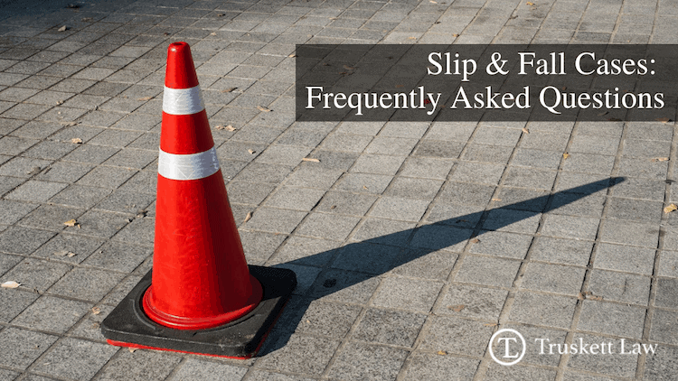 frequently asked slip and fall case questions