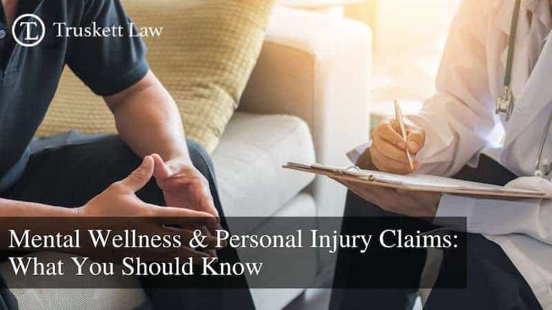 mental health personal injury claims